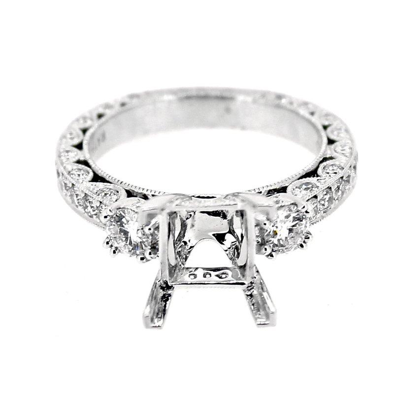 Decor Ornate Diamond Ring Mounting