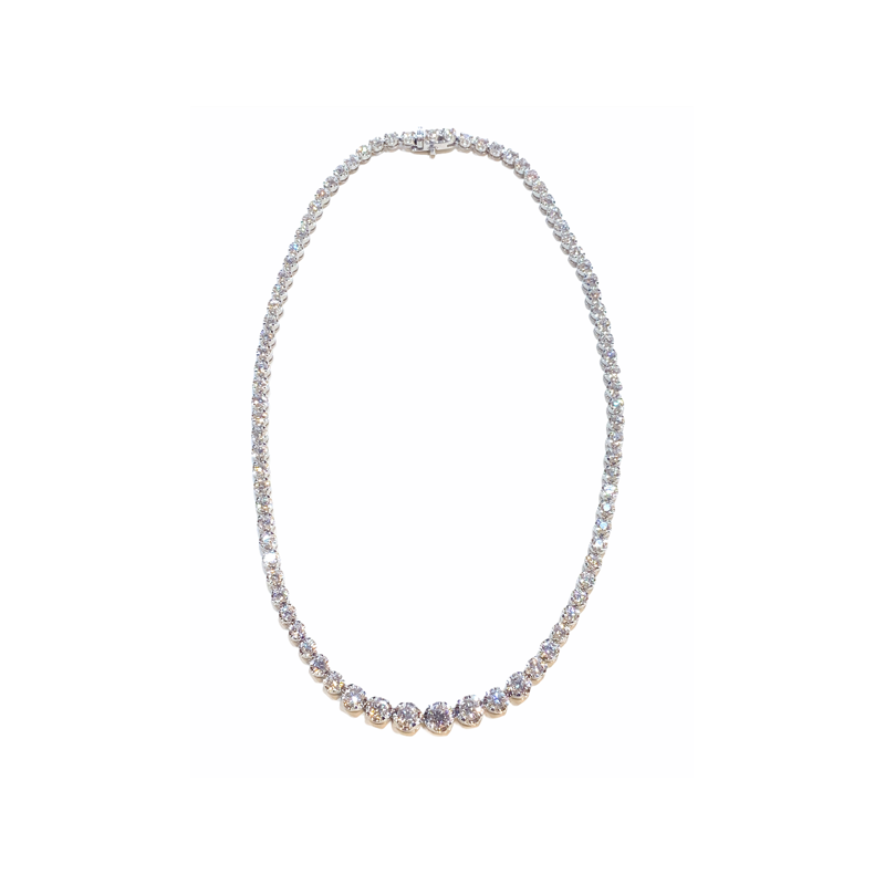 Decor Diamond Tennis necklace