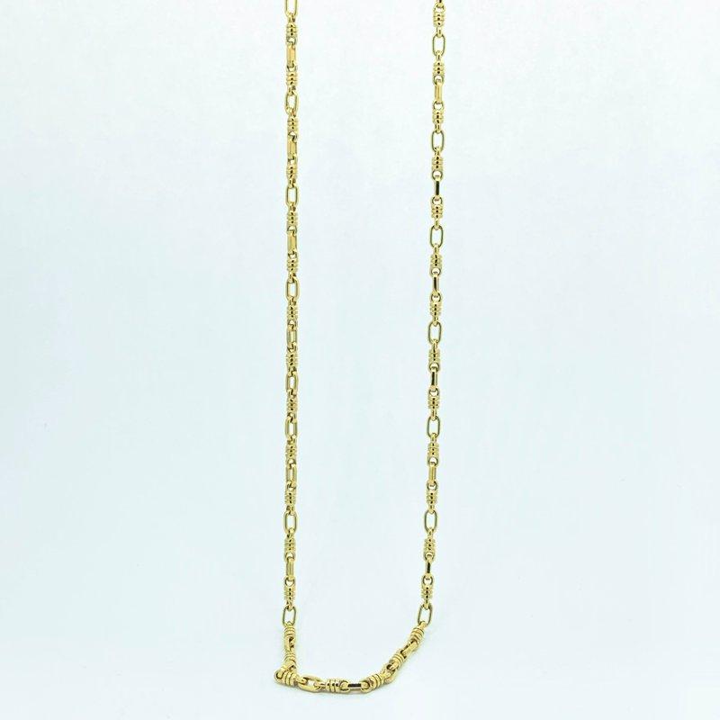 Decor Fancy Link Gold Chain Necklace