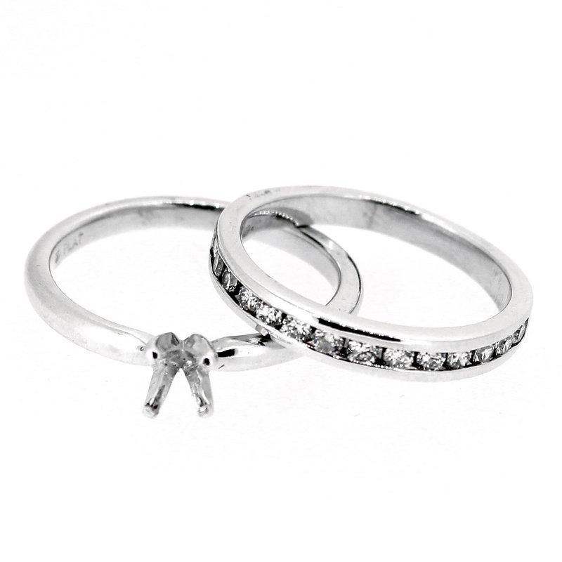 Decor Platinum Wedding Set