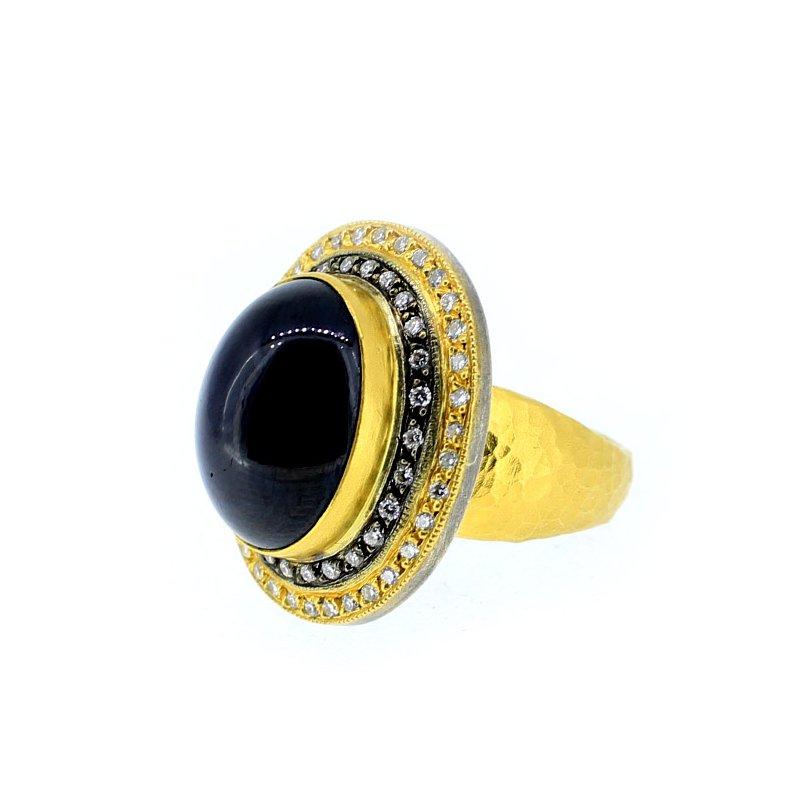 Kurtulan Sapphire Cabochon Ring from Kurtulan