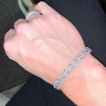 Diamond Link Bracelet