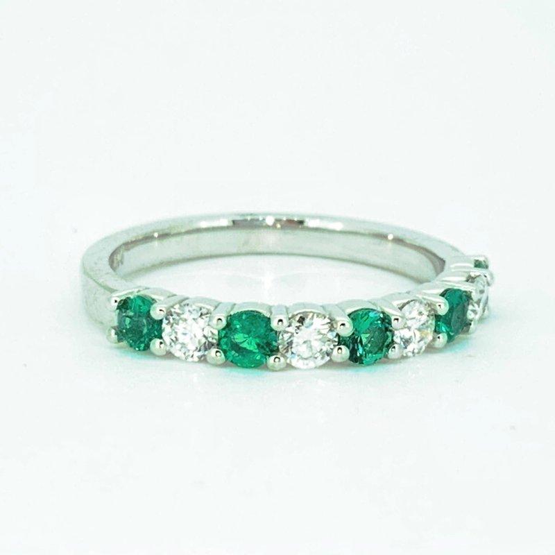 Decor Emerald & Diamond Band