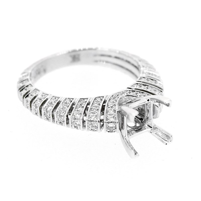 Decor Diamond Bar Ring Mounting