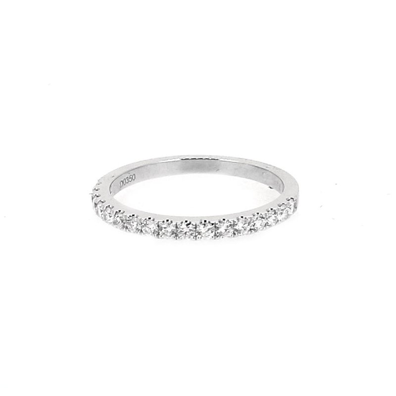 Decor Diamond Wedding Band