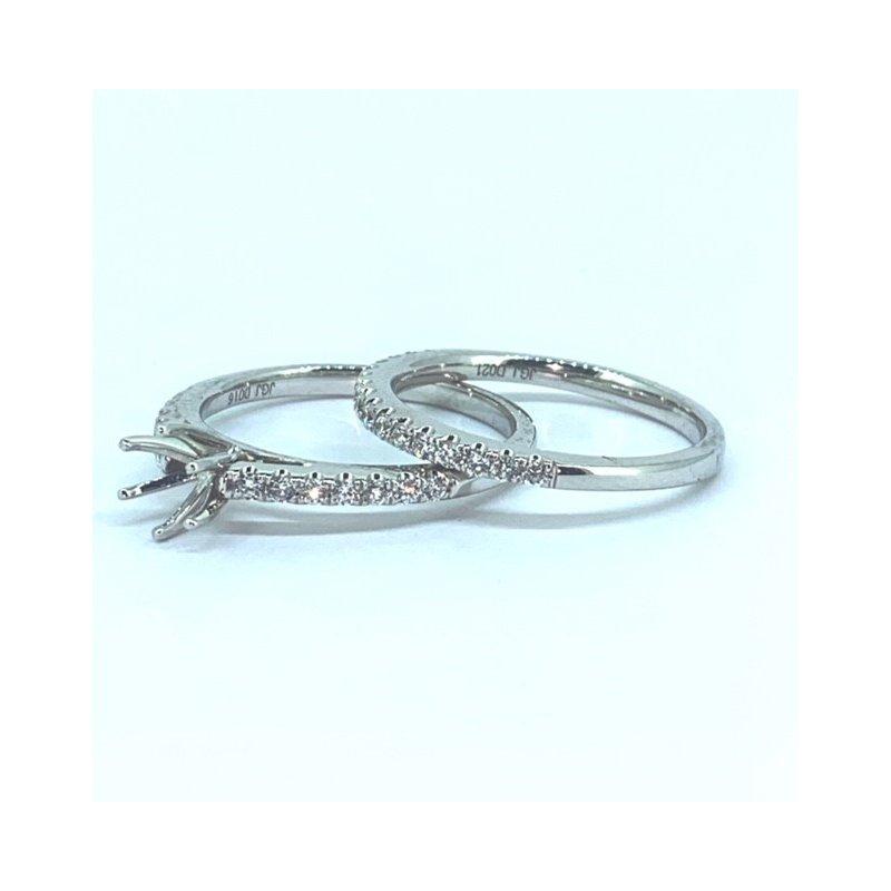 Decor 6 Prong Diamond Ring Mounting Set