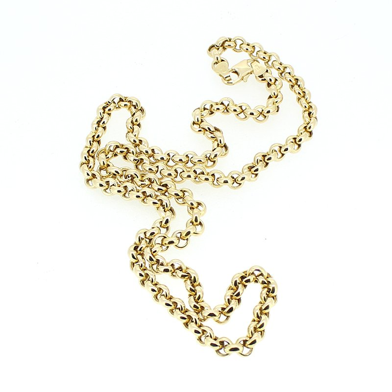 Decor Round Link Gold Necklace
