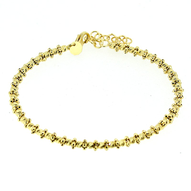Decor Beaded Bangle Bracelet