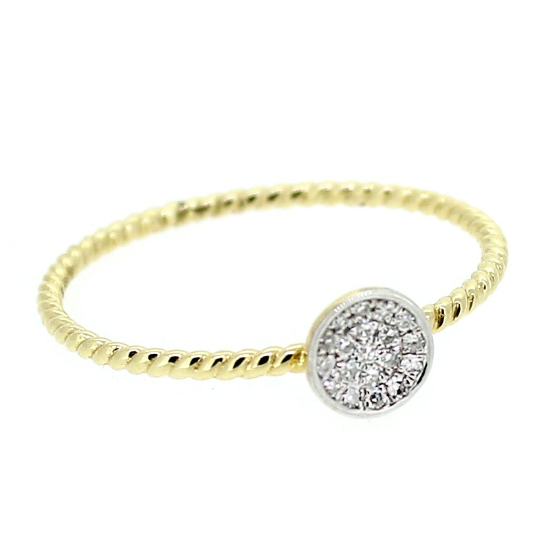 Decor Dainty Diamond Cluster Ring