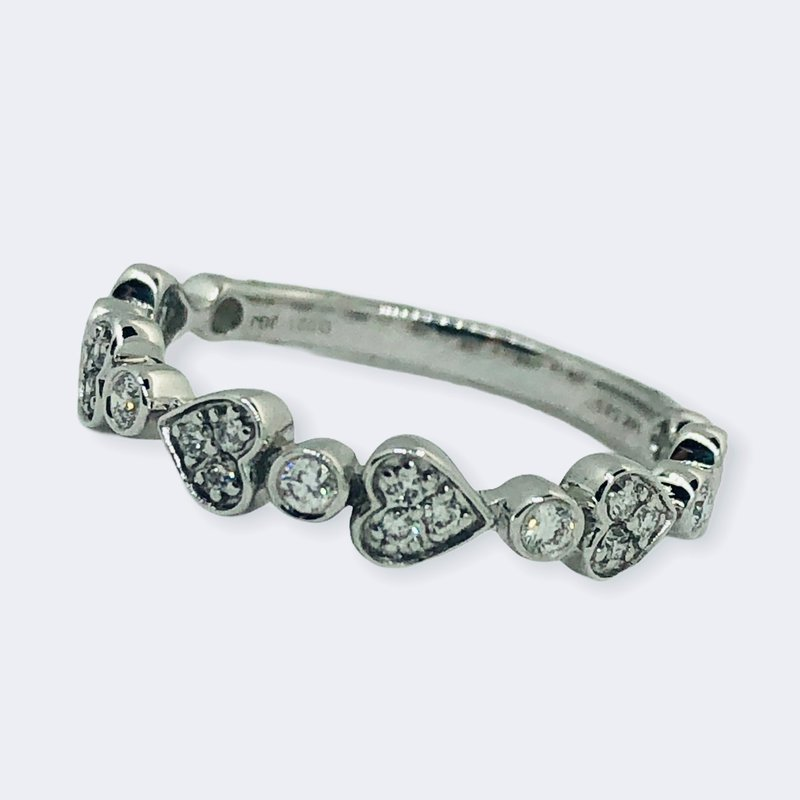 Decor Diamond Hearts Band
