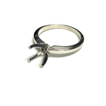 4 Prong Solitaire Ring Mounting