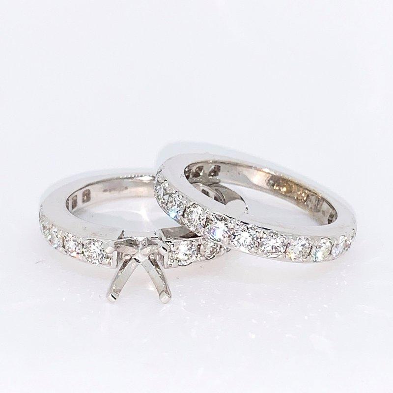 Decor 2.40ctw Diamond Ring Mounting & Band
