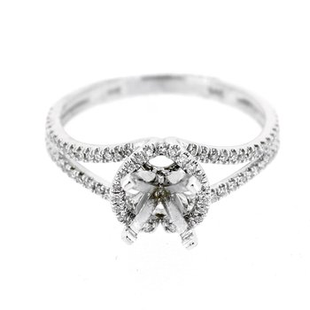 Open Diamond Ring Mounting