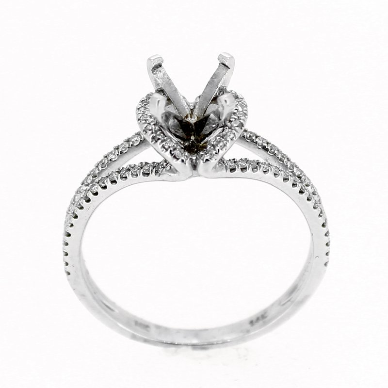 Decor Open Diamond Ring Mounting