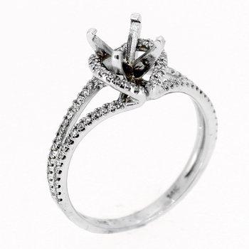 Open Diamond Ring Mounting