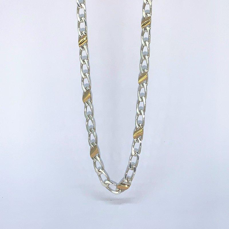 Tiffany Co 2 Tone Tiffany and Co Necklace