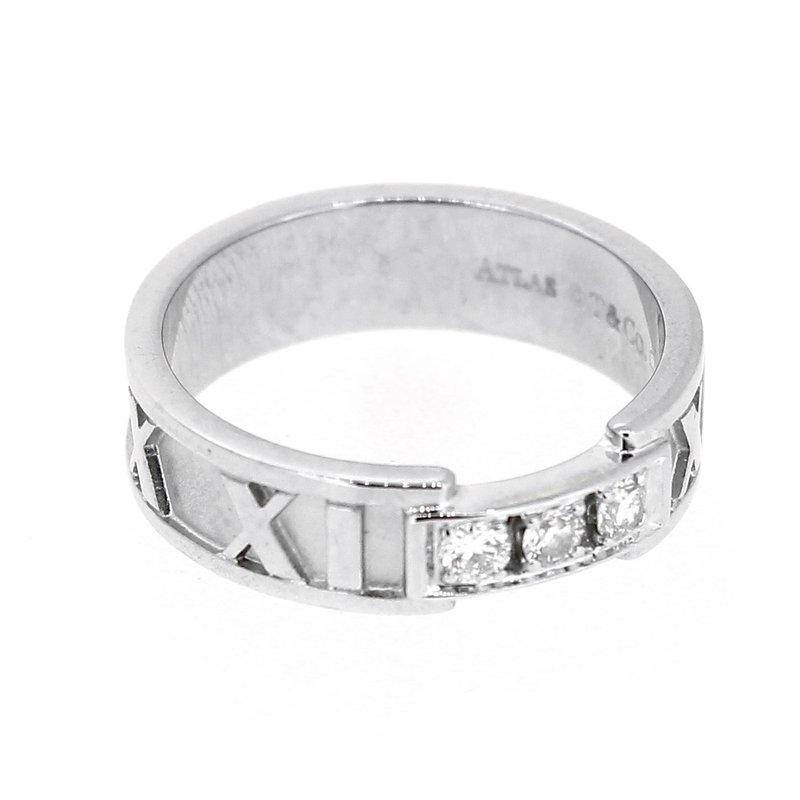 Tiffany Co Atlas Diamond Band
