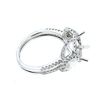 Halo Diamond Ring Mounting
