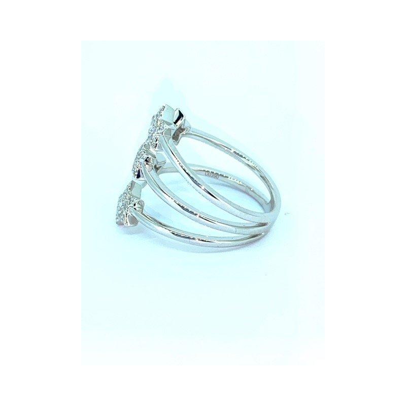Decor 5 Star Diamond Ring