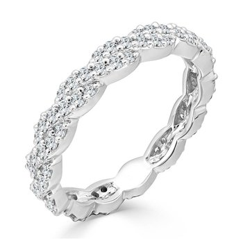 Twisted Diamond Crossover Band