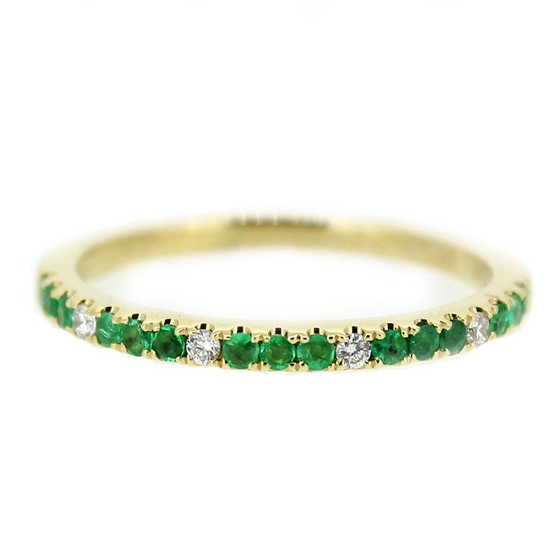 Decor Emerald & Diamond Band