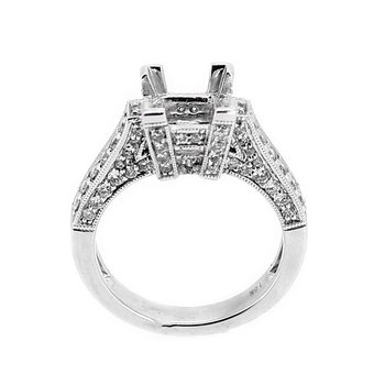Square Diamond Ring Mounting