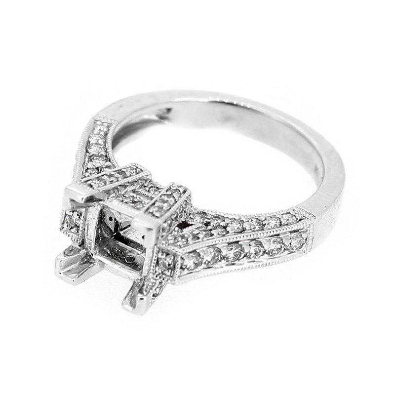 Decor Square Diamond Ring Mounting