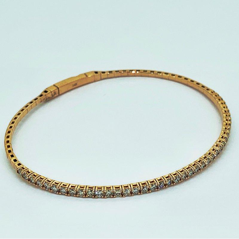 Decor Rose Gold Diamond Bracelet