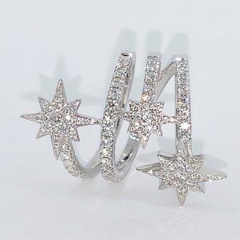 Diamond Star Wrap Ring
