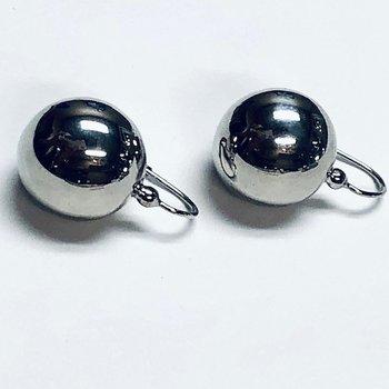 Round Ball Drop Earrings