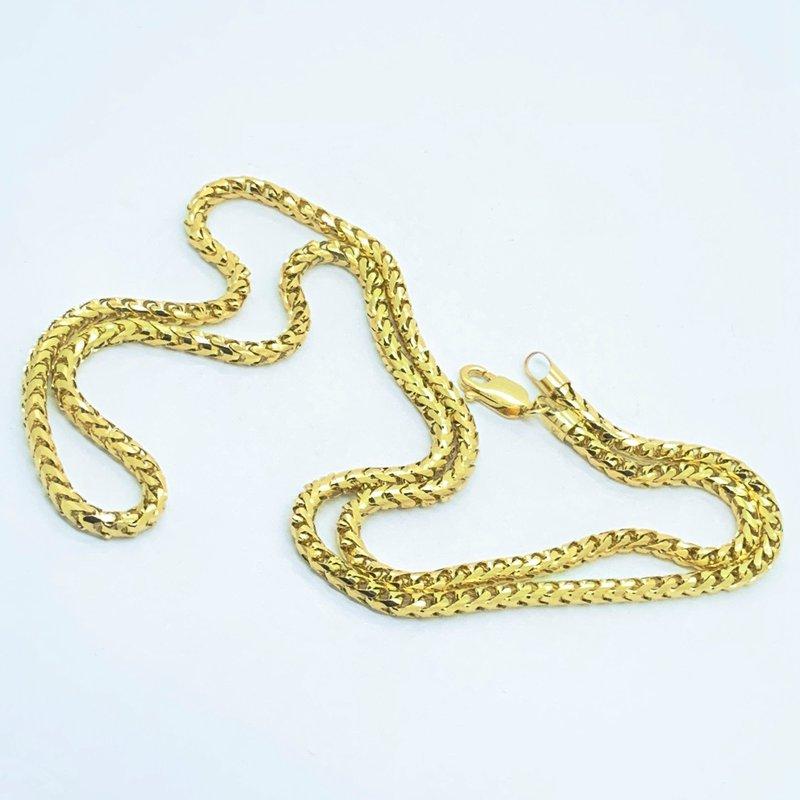 Decor Birdcage Gold Chain Necklace