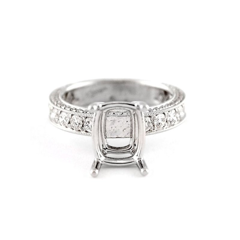 Decor Diamond Engagement Ring Mounting