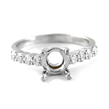Round Diamond Ring Mounting