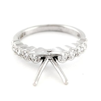 Classic Diamond Engagement Ring Mounting
