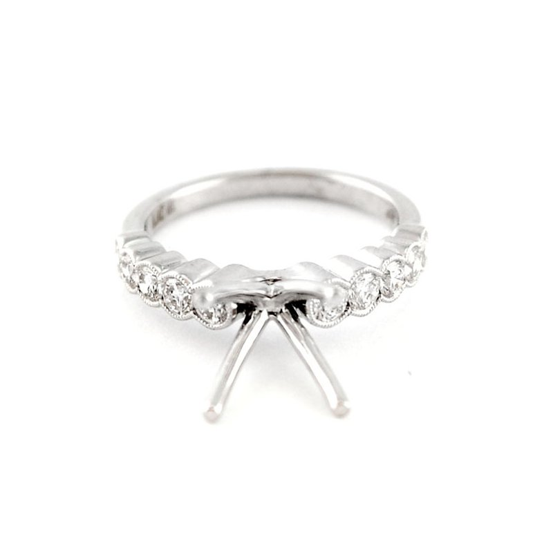 Decor Classic Diamond Engagement Ring Mounting
