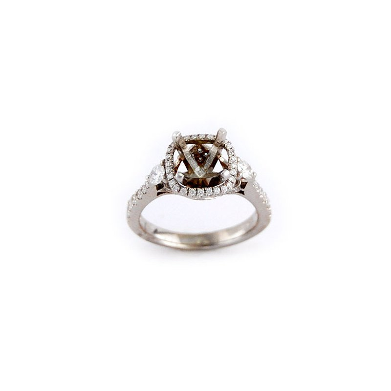 Decor Halo Diamond Ring Mounting