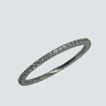 Dainty Diamond Eternity Band