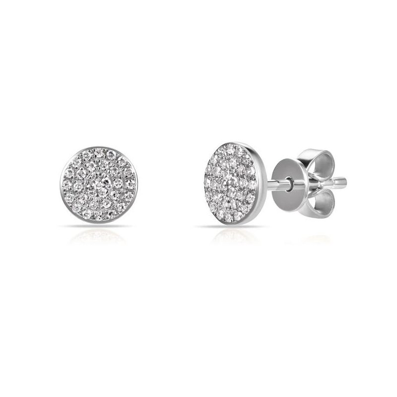 Sabrina Pave Diamond Earrings