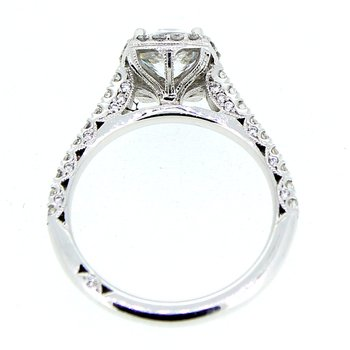 Tacori Halo Diamond Ring Mounting