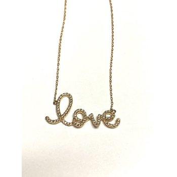 Diamond Love Necklace
