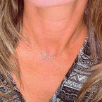 Decor Diamond Love Necklace