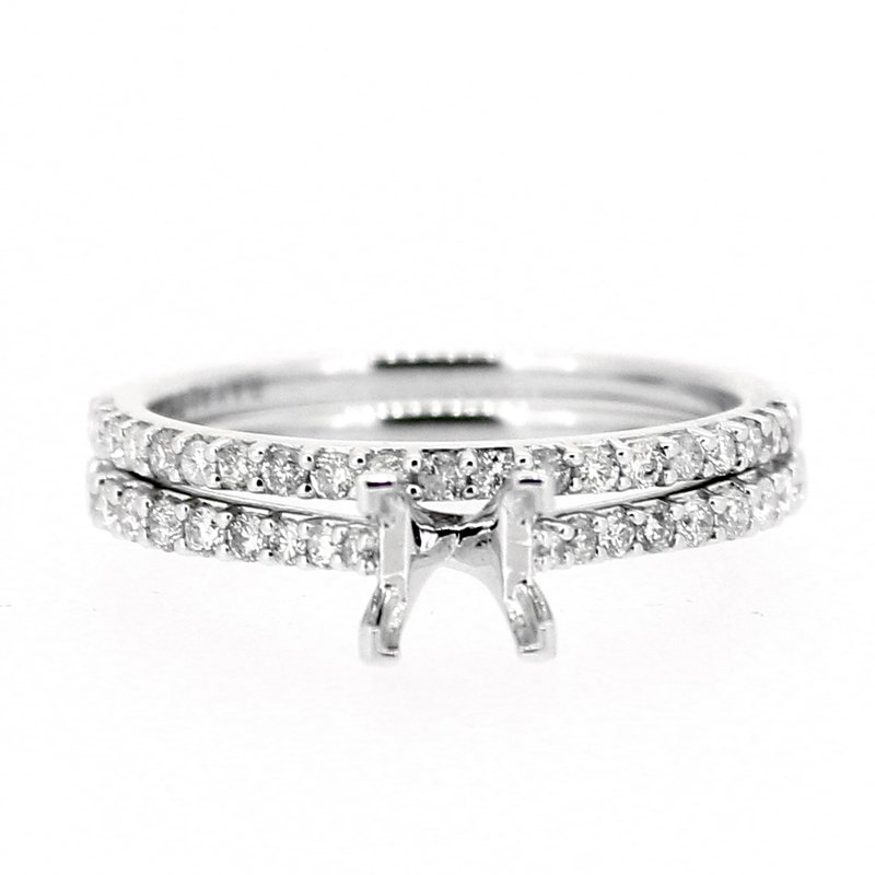 Decor Classic Diamond Ring Mounting and Band