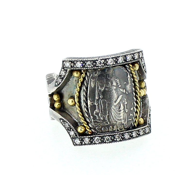 Kurtulan Lady of Justice Diamond Ring