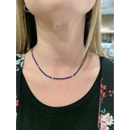 Decor Sapphire & Diamond Necklace