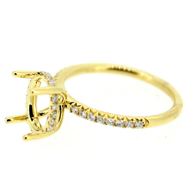 Decor Halo Diamond Ring Mounting