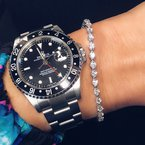 Decor 5.10CT Diamond Tennis Bracelet
