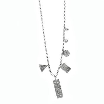 Multi-Pendant Diamond Necklace