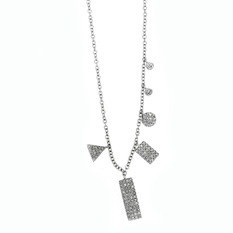 Meira T Multi-Pendant Diamond Necklace
