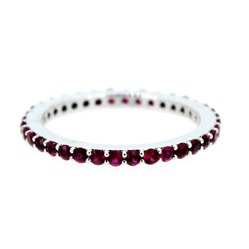 Decor Ruby Eternity Band