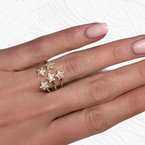 Decor Diamond Stars Ring